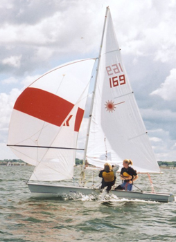 Sailing the Laser II in Hamilton Harbour
