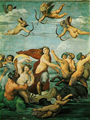 Raphael's The Triumph of Galatea