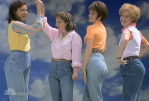 SNL's mom jeans